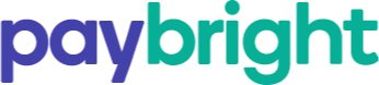 Purple and green PayBright logo
