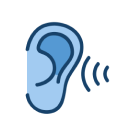 Sound reaching an ear